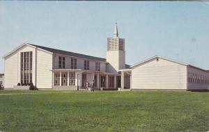 DOVER, Delaware, 50-60s; Base Chapel , Air Force Base
