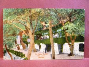 Postcard CA Mt. Lowe Ye Alpine Tavern 1915