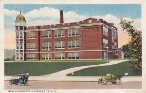 JOHNSON CITY , New York  , PU-1918 ; New High School