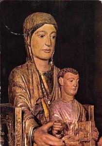 Orcival (Puy de Dome) Basilique Notre-Dame, Vierge en Majeste