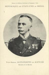 brazil, Minister of the Navy Alexandrino Faria de Alencar (1906) Mission