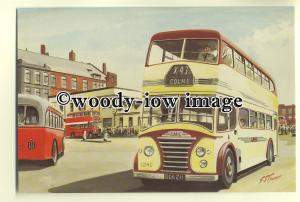 tm5613 - Ribble Motor Services Bus 1240 at Mosley St Bus Station - art postcard