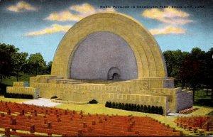Iowa Sioux City Grandview Park Music Pavilion