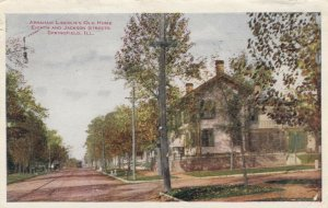 SPRINGFIELD , Illinois , 1900-10s ; Abraham Lincoln's Old Home