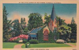 California Glendale The Little Church Of The Flowers