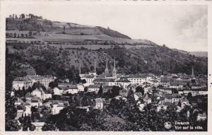 RP; Vue sur la ville, Diekirch, Luxembourg, 10-20s