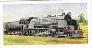 Mornings Foods Trade Card World Locomotives No 21 Express Locomotive North We...