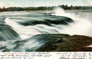 Canada - ON, Ottawa. Chaudiere Falls