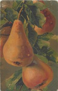 C. Klein pears fruits pastell