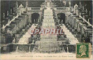 Postcard Old Saint Cloud Park Many Waters Great Cascade