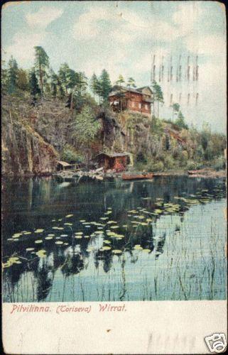 finland suomi, PILVILINNA, Toriseva, Wirrat (1918)