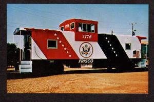 St Louis San Francisco Frisco Railroad Train Caboose Bicent 1776 Postcard