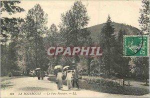 Old Postcard La Bourboule Fenestre Park