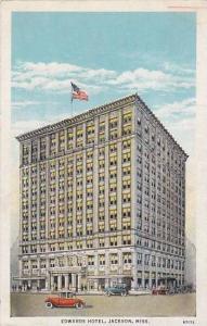 Edwards Hotel, Jackson, Mississippi,  PU-1945