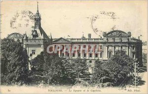 Old Postcard Toulouse Square and the Capitol