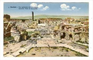 General View Of Acropolis, Baalbek, Lebanon, 1900-1910s
