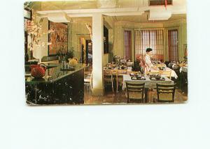 Postcard Tokoyo Sukiyaki Restaurant Japanese Food Dining Room Wash DC  # 4225A