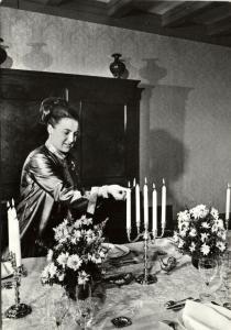 Dutch Princess Margriet at Het Loo Palace (1960s)