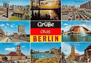 Gruesse aus Berlin, Europa-Center, Rathaus, Gropiusstadt, Havel, Kongresshalle