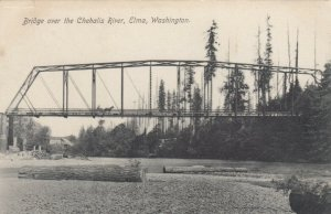ELMA , Washington , 1900-10s ; Bridge over the Chehalis River