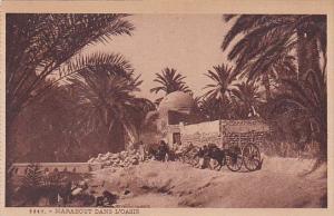 Tunisia Marabout Dans L'Oasis