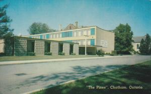 CHATHAM, Ontario, Canada, 1940-1960's; The Pines, The New Ursuline Academy