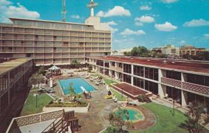 El Tropicano Motor Hotel, Swimming Pool, San Antonio, Texas, 1940-1960s