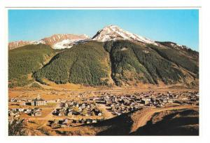 Silverton Colorado Aerial View San Juan Natl Forest Petley