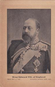 King Edward VII of England , 1901-07 ; AD on back