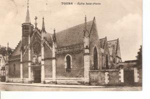 Postal 023079 : Tours - Eglise Sanit-Pierre