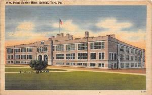 Pennsylvania York   Wm. Penn Senior High School
