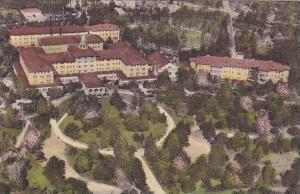 North Carolina Pinehurst Air View Of Carolina Hotel Albertype