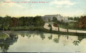 Buffalo NY, New York - Albright Art Gallery at Delaware Park - DB