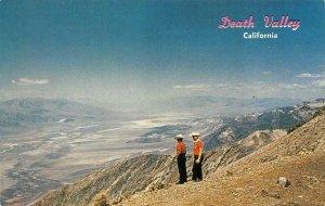 Dante's View DEATH VALLEY California Cowboys c1950s Vintage Postcard