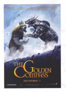 Polar Bears fight, Movie The GOLDEN COMPASS, 2007 Poster Art