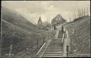 denmark, LEMVIG, Stationsstien (1910s)