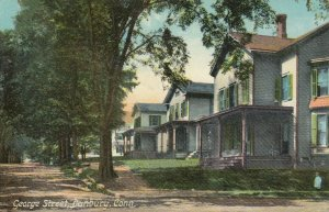 DANBURY , Connecticut, 1910 ; George Street