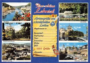 Das schoene Lahntal, Bad Ems, Schloss Schaumburg Weilburg, Limburg Dom Castles