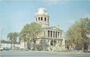 New Philadelphia Ohio~Tuscarawas County Court House~Historical Info on Bk~60s Pc