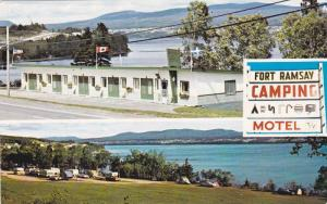 Fort Ramsay Motel & Camping,  Gaspe,  Quebec,  Canada,   40-60s