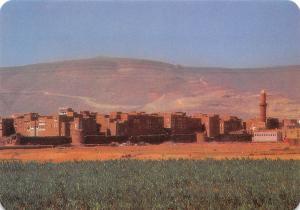 Yemen General view of Amran Town Vuew generale Tower