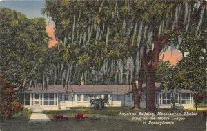 Moosehaven Florida 1958 Postcard Keystone Building Orange Park near Jacksonville