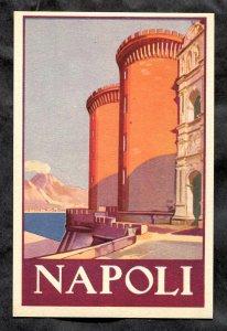 dc407 - NAPOLI Italy 1930s Artistic Postcard