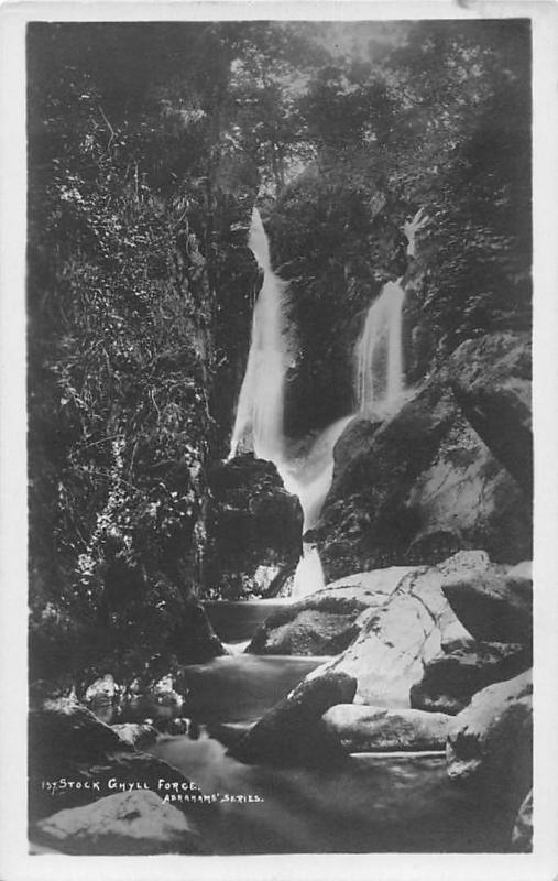 Stock Ghyll Force, Falls, Ambleside‎, ‎Grasmere, Abrahams' Series