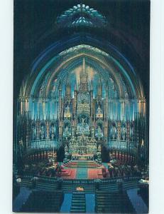 Unused Pre-1980 TOWN VIEW SCENE Montreal Quebec QC p9205