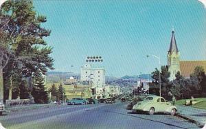 Montana Bozeman Entering from West On Highway U S 10