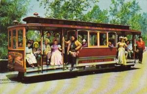 The Cable Cars Knotts Berry Farm Ghost Town California