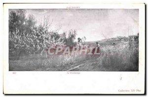 Postcard The Old Spring Aubigny