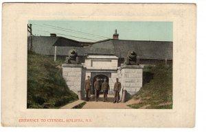 Entrance to Citadel, Halifax, Nova Scotia