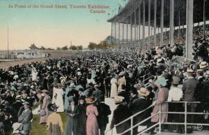TORONTO, Ontario, 1900-10s; Grand Stand , Horse Race Track